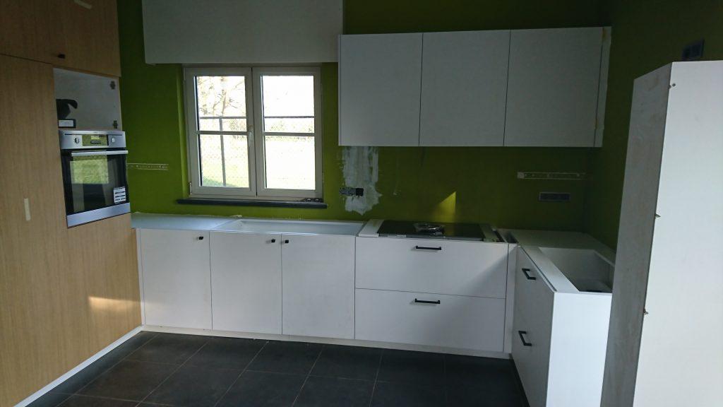 U-vormige keuken Interieurbouw Willekens