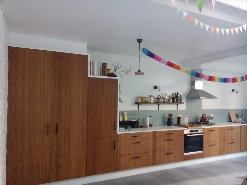 I vormige keuken Interieurbouw Willekens